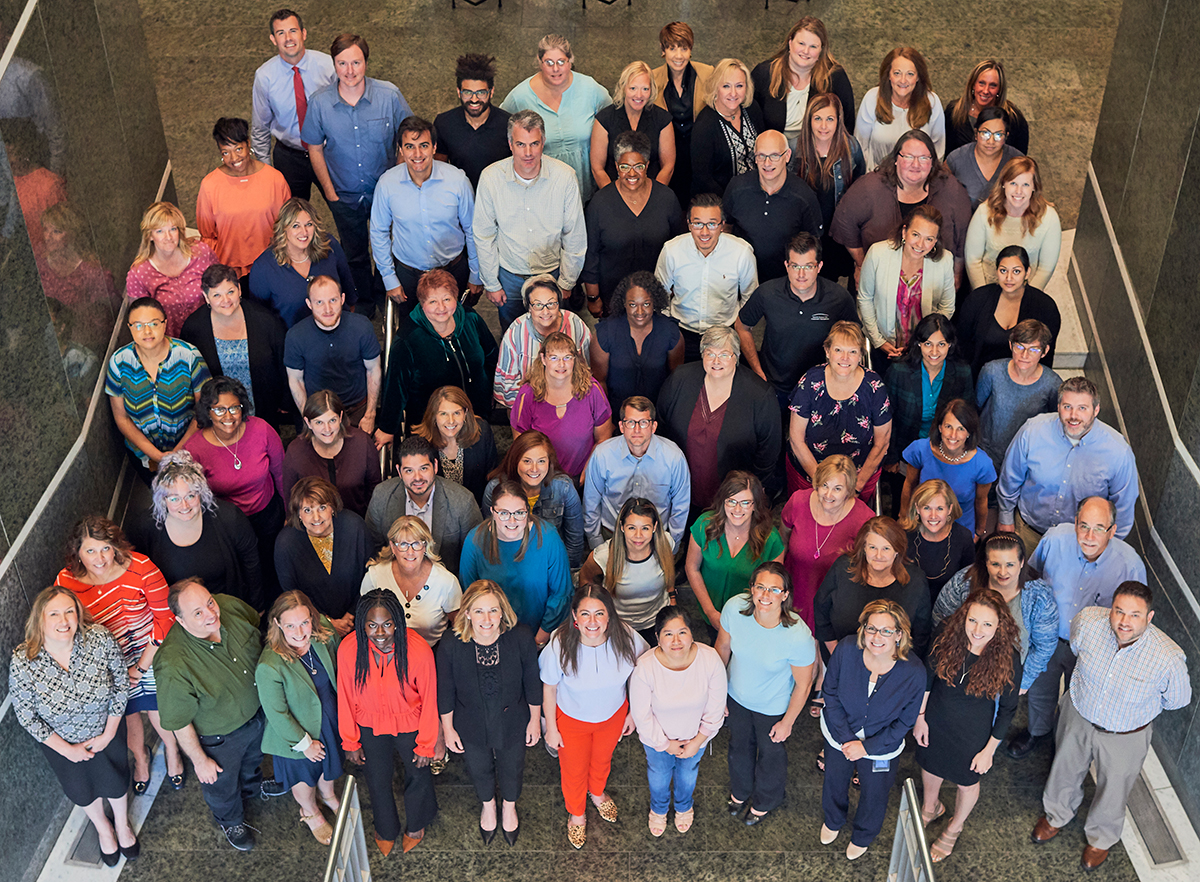 Greater Kansas City Community Foundation 2019 All Staff Photo