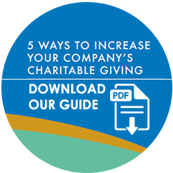 Download Our Corporate Charitable Giving Guide