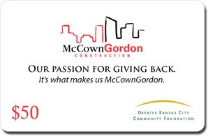 Customize your charitable giving card from Greater Horizons Giving